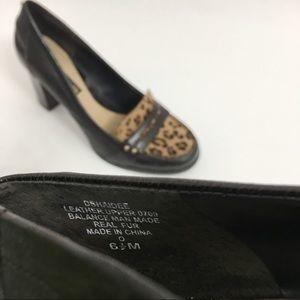 Bandolino Shoes - Bandolino leather 'Haidee' leopard heels I0159